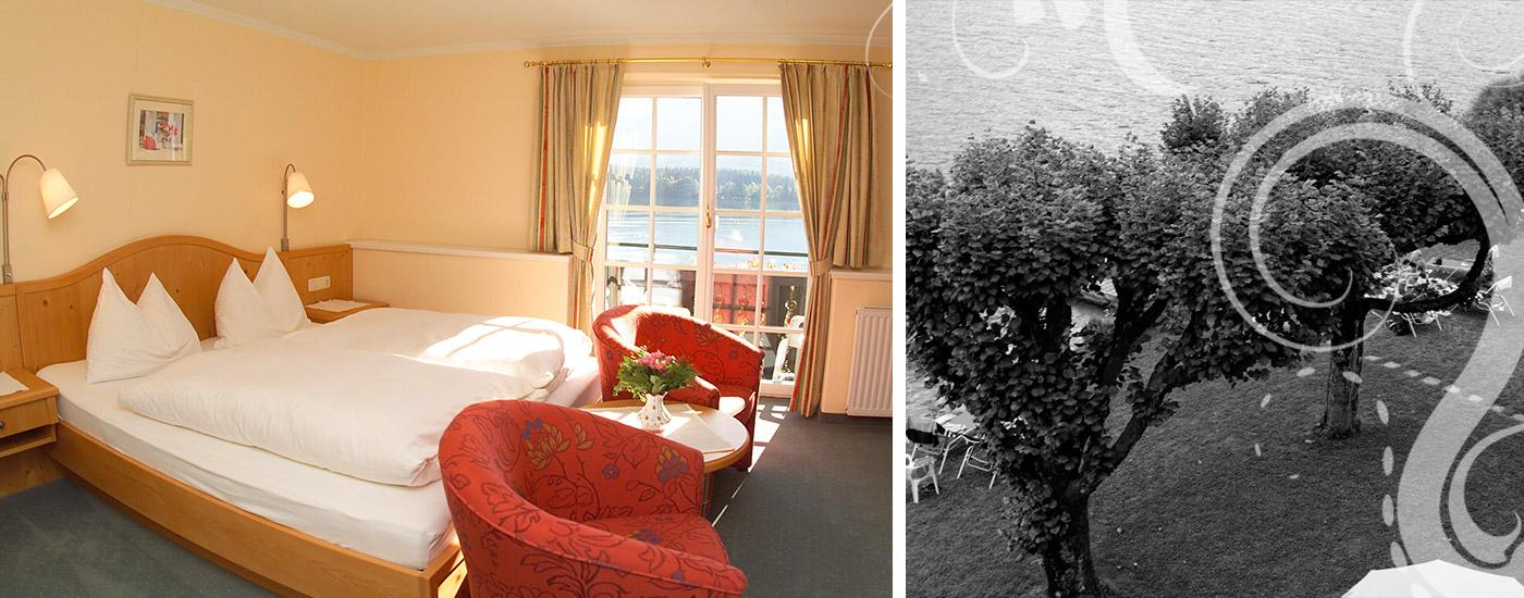 Ruhen im Hotel Gasthof Falkenstein in Ried am Wolfgangsee im Salzkammergut